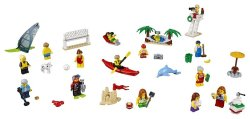 Lego City Town People Pack Fun At The Beach 60153