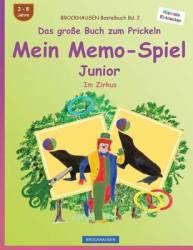 Brockhausen Bastelbuch Bd. 2 - Das Grosse Buch Zum Prickeln - Mein Memo-spiel Junior