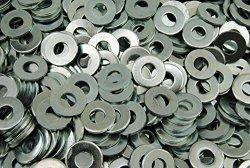 """500 3 8"""" Uss Flat Washers - Zinc Plated"""