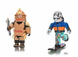 Roblox- Loyal Pizza Warrior And Shred: Snowboard Boy Two Figure Pack