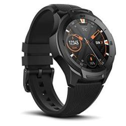 Ticwatch S2 Waterproof Smartwatch With Build-in Gps For Outdoor Activities Wear Os By Google Compatible With Android And Ios Midnight
