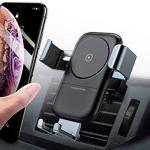 Andobil Wireless Car Charger Mount Qi Certified Auto-clamping Air Vent Phone Holder 7.5W Compatible With Iphone Xs xs MAX XR X 8