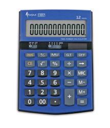 Blue Calculator 12 Digits