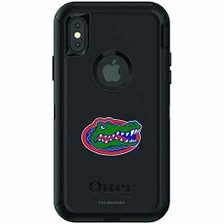 Fan Brander Ncaa Black Phone Case With School Logo Compatible With Apple Iphone Xr And With Otterbox Defender Series Florida Gators