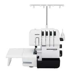 Brother Serger ST4031HD Strong And Tough Serger Durable Metal Frame Construction Large Extension Table 1 300 Stitches Per Minute