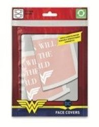 Wonder Woman - Women Will Save The World Face Covering Pack Of 2 Face Covering