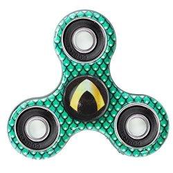Buckle Down Fty Fidget Spinner Green Yellow