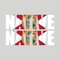 Fagraphix Two Pack Florida Native Sticker Fa Graphix Vinyl Decal Fl Pride