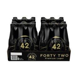 42 Premium Lager 340ML X 24