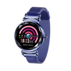 Bakeey H2 Diamond Ips Dial Wristband Heart Rate Menstrual Reminder Stainless Steel