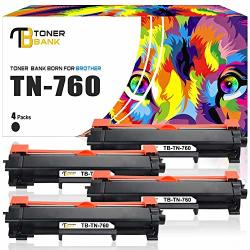 Toner Bank Compatible Toner Cartridge Replacement For BrOther TN760 Tn 760 TN730 MFC-L2710DW Toner For BrOther HL-L2370DW HL-L2350DW Dcp L2550DW HLL2395DW HLL2390DW HLL2350DW Printer