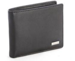 Polo Nappa Billfold Drivers License Wallet Black