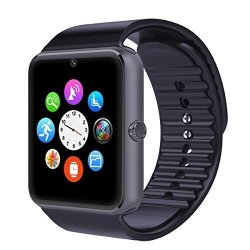Corado Hill Bluetooth Smart Watch With Camera Pedometer Sim Card And Media Card Slots Activity Track