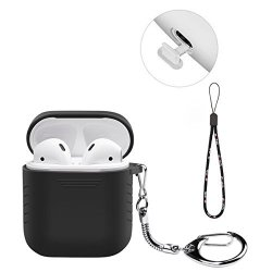 finest selection 1b00e 3b00b BUBM Case For Airpods Case Cover Skin Keychain Protective Apple Airpods  Silicone Case Shockproof With Anti-lost Strap For Iphone | R540.00 |  Handheld ...
