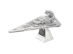 Metal Earth 3D Laser Cut Model - 4 Star Wars In Set: Series 2: Imperial Star Destroyer Destroyer Droid Tie Fighter And X-wing