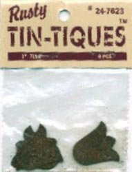 """Rusty Tin-tiques 24-7623 - 1"""" Tulip - 6 Pieces pkg - Six Packages Total 36"""
