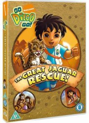 Go Diego Go: The Great Jaguar Rescue DVD