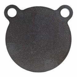 SHOOTINGTARGETS7 - AR500 Steel Gong Target - 4 X 1 2 Inch - Laser Cut Usa Steel