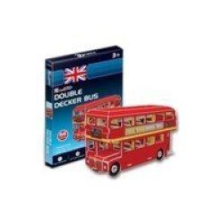 CubicFun Double Decker Bus 66pcs 3d Puzzle