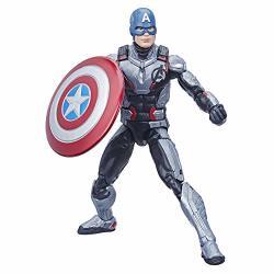 "Hasbro Avengers Marvel Legends Series Endgame 6"" Captain America Marvel Cinematic Universe Collectible Fan Figure"