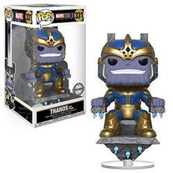 Funko Pop Marvel: Thanos On Throne Collectible Figure Multicolor