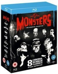 Classic Universal Monsters: The Essential Collection Import Blu-ray