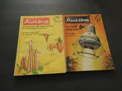 2 Iss Amazing Stories Jun And Sep 1968 Randall Garrettjames Schmitz