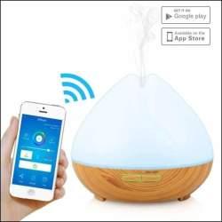 The Aroma Co Wifi Smart Remote Control Ultrasonic Essential Oil Aroma Diffuser