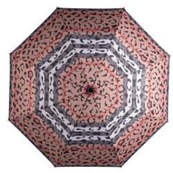 CARAMIA Catwalk Safari Auto Umbrella Black red