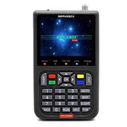 Leepesx V8 Finder Digital Satellite Finder With 3.5 Inch Lcd Digital Display