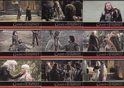 USA Game Of Thrones Season 1 One 2012 Rittenhouse Archives Base Card Set Of 72 Tv