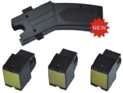 Tazer Stun Gun + 3 Cartridges Laser Sight 80KV