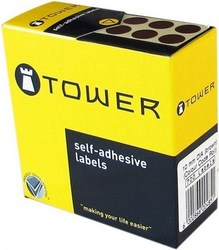 Tower C10 Colour Code Labels - Red