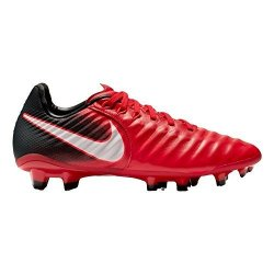 Nike Junior Tiempo Legend Vii Fg Football Boots 897728 Soccer Cleats UK 3.5 Us 4Y Eu 36 University Red White Black 616