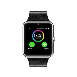 POSIUAN Msrm 1.54 Inch Buletooth Smart Watch Support Android 4.2 Ios 7.0 Remote Camera Anti Lost