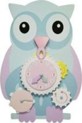 Jeronimo Wooden Learning Owl