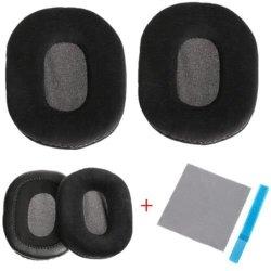 FidgetFidget Velour Headphone Ear Pads Cushion For Audio-technica ATH-M40  ATH-M50 ATH-SX1{COMPATIBLE Model: M20X M30X M40X M50X} | R490 00 | Handheld