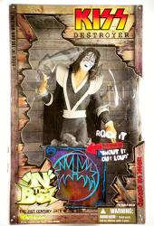 """Kiss Ace Frehley Destroyer """"n"""" The Box Jack In The Box Figure By Art Asylum"""