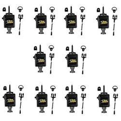 Lot Of 5 Gear Keeper RT3-4112 Heavy Duty Retractable Cb Radio Microphone Hanger