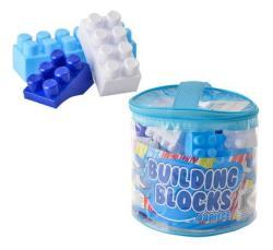 Bulk Pack Of 3X Building Blocks With Storage Bag - 44 Piece