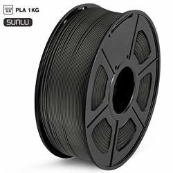 PLA 3D Printer Filament Sunlu Filament 1.75MM Dimensional Accuracy + - 0.02 Mm 1 Kg Spool 1.75MM Black