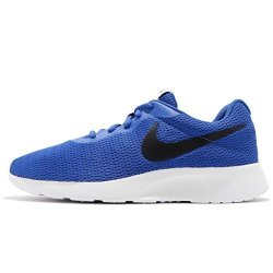 Nike Men's Tanjun Running Sneaker Game Royal black-white 8.5