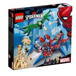 Lego Marvel Super Heroes Spider-man's Spider Crawler 7+ Years 76114