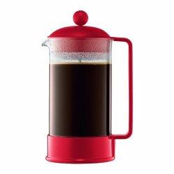 Bodum Brazil Coffee Maker French Press Coffee Maker Red 34 Ounce