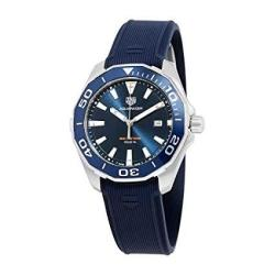 Tag Heuer Aquaracer Blue Dial Mens Watch WAY101C.FT6153