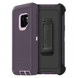 OtterBox Defender Series Case For Samsung Galaxy S9 - Retail Packaging - Purple Nebula Winsome Orchid night Purple