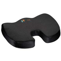 Pillow Palace Coccyx Orthopedic Seat Cushion Memory Foam Chair Pillow Relieves Back Tailbone Sciatica Nerve Pain Premium Comfort
