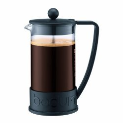 Bodum New Brazil 8-CUP French Press Coffee Maker 34-OUNCE Black