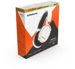SteelSeries Gaming Headset - Arctis 5 - 2019 Edition - White Pc gaming