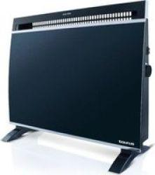Taurus Glass Electric Heater 1500W Black
